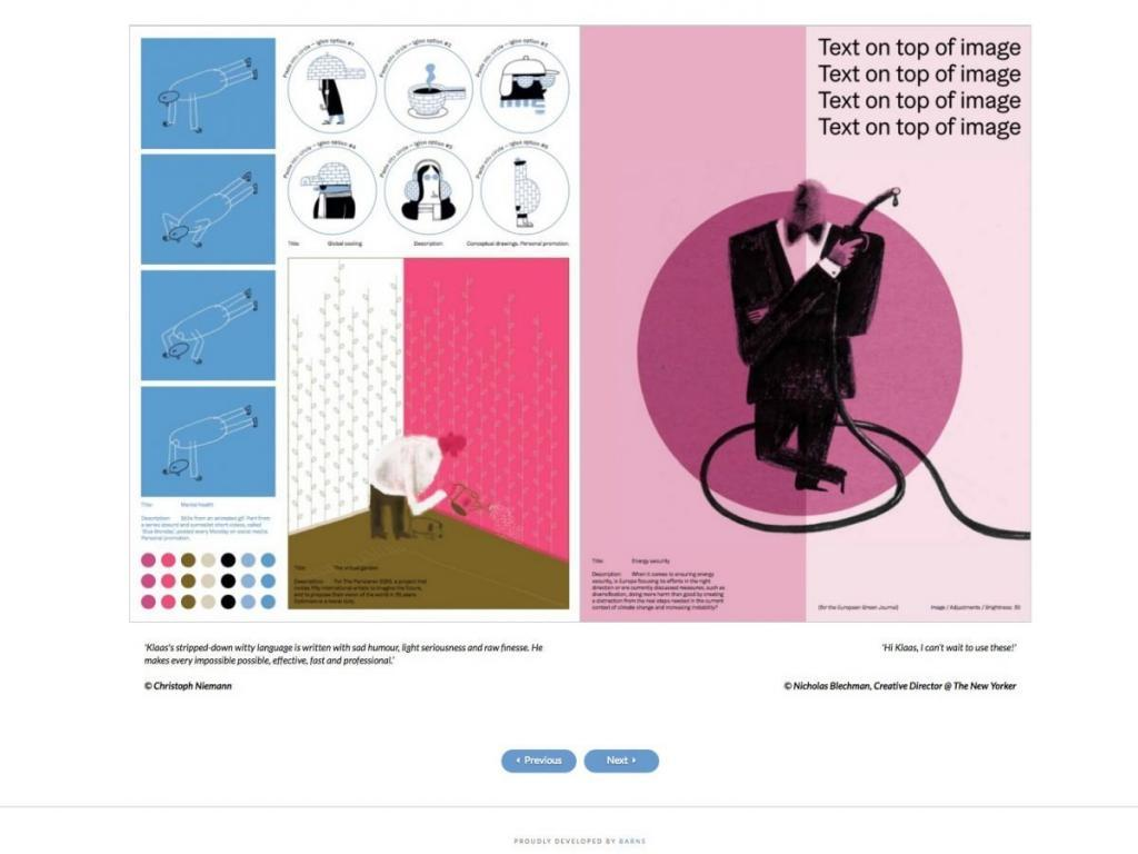 Klaas Verplancke - Tevreden klant van BARNS KORTRIJK - website, e-shop, webshop, nieuwsbrief, bedrijfsfoto's kleine ondernemingen
