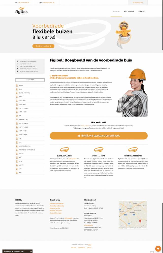 Figibel - Tevreden klant van BARNS KORTRIJK - website, e-shop, webshop, nieuwsbrief, bedrijfsfoto's kleine ondernemingen