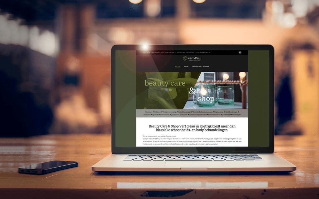 Vert d'Eau - Tevreden klant van BARNS KORTRIJK - website, e-shop, webshop, nieuwsbrief, bedrijfsfoto's kleine ondernemingen