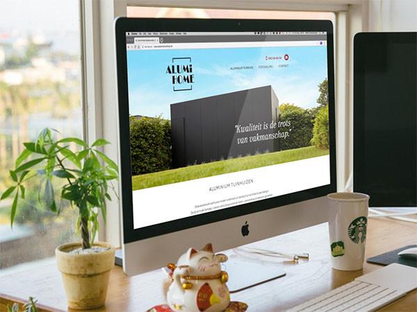 BARNS Kortrijk ontwikkelde de website van Alumi Home.