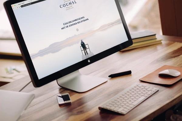 BARNS Kortrijk ontwikkelde de website voor COUNSL