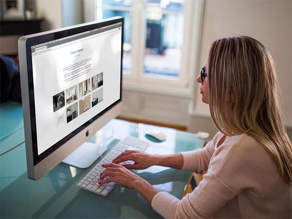 BARNS ontwikkelde de website van Courtois-Châtelain
