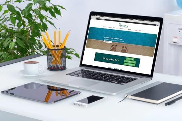 BARNS Kortrijk ontwikkelde de Freshmen website in opdracht van Rutger Desmedt