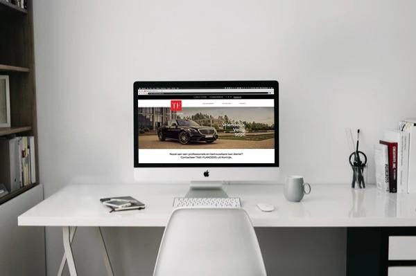 BARNS Kortrijk ontwikkelde de website van TAXI-FLANDERS