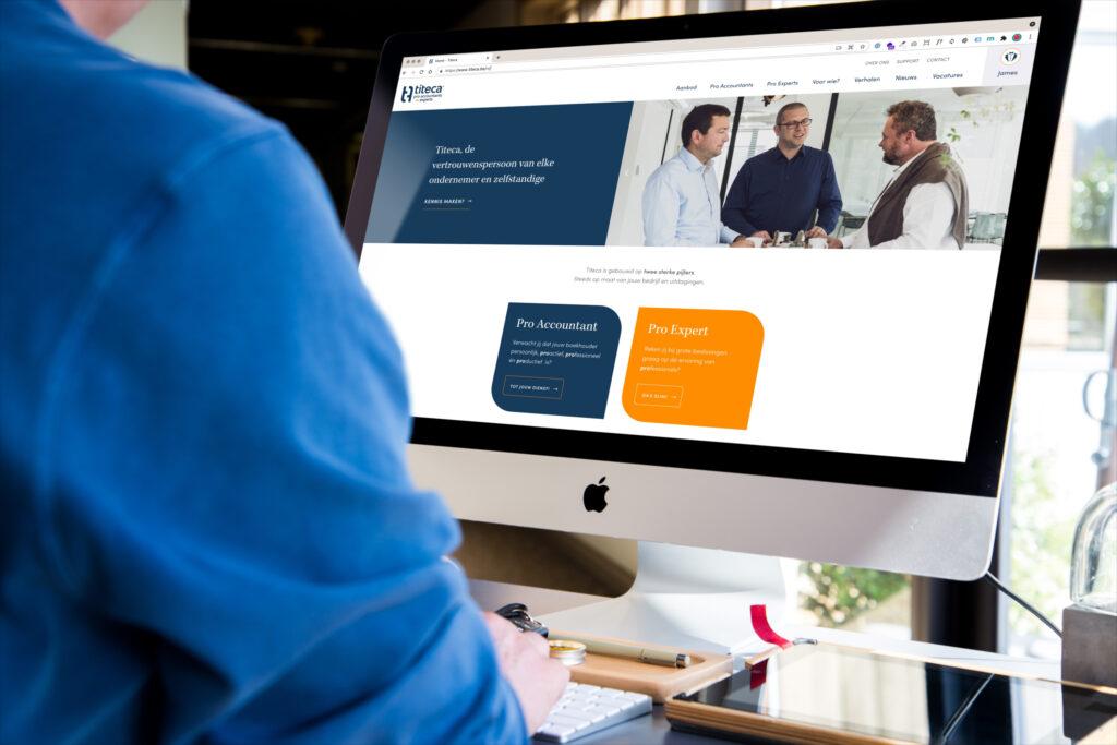 Titeca Accountants en Experts - Ontwikkeld door BARNS Kortrijk